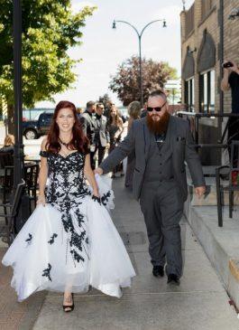 Black Wedding Dress