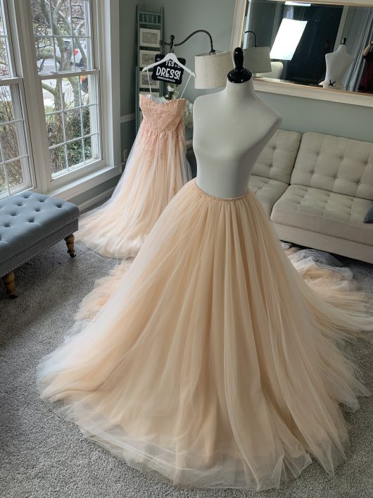 2 in 1 Wedding Dress by Brides & Tailor